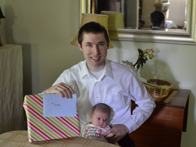 Jacob's First Father's Day