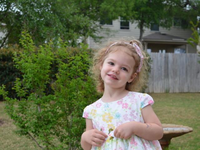 Anna at 3 years