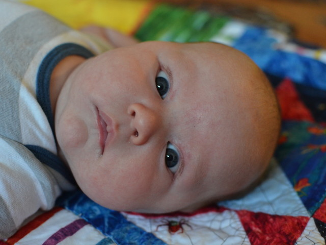 Isaac at 9 weeks