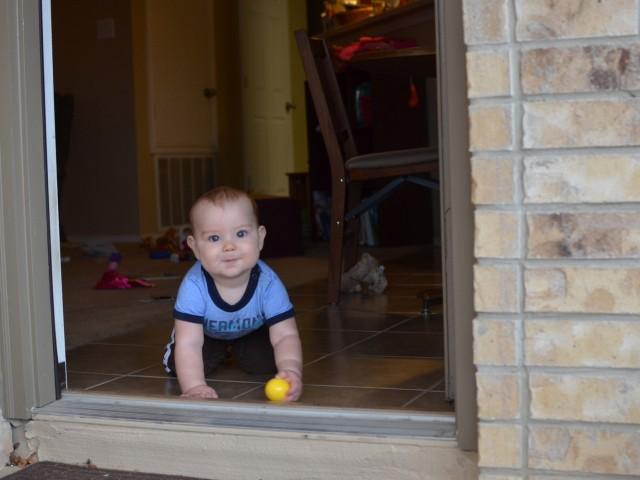 Isaac at 9 months
